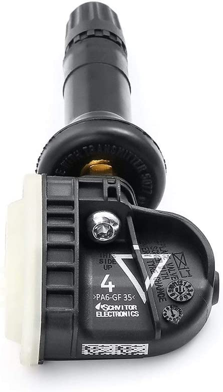 Color : Black Sensore di pressione dei pneumatici 4pcs 13.598.773 TPMS pressione degli pneumatici monitoraggio del sensore a for Cadillac SRX CT6 XT5 Chevrolet Malibu Opel Antara Bolt Mokka