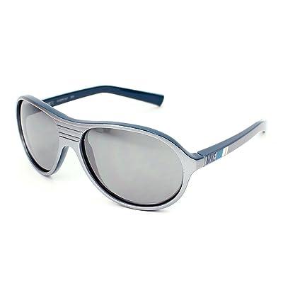 Nike Gafas de Sol plata/negro/gris Única: Ropa y accesorios