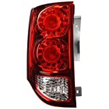 Depo 334-1924L-AF Tail Light Assembly (DODGE GRAND CARAVAN 11-14 LED DRIVER SIDE NSF)