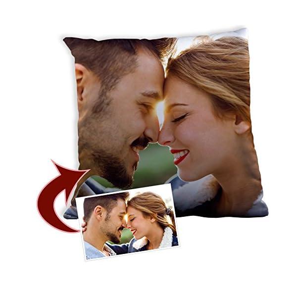 LolaPix Cojin Personalizado con Foto. Regalos Personalizados con Foto. Impresión Total por Las 2 Caras hasta la Costura… 2