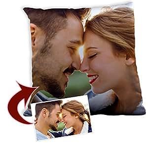 Lolapix Cojín Molón Personalizado con Foto/Diseño | Regalo Original | Relleno Incluido | Varios Tamaños a Elegir | 45x45