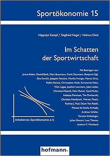 Book Im Schatten der Sportwirtschaft