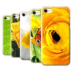 STUFF4 Phone Case / Cover for Apple iPhone 8 / Multipack / Floral Garden Flowers Collection