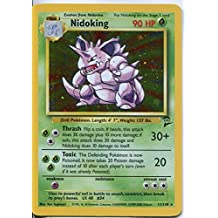 Pokemon Base Set 2 Holofoil Card #11/130 Nidoking