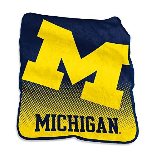 NCAA Michigan Wolverines Raschel Throw, One Size, ()