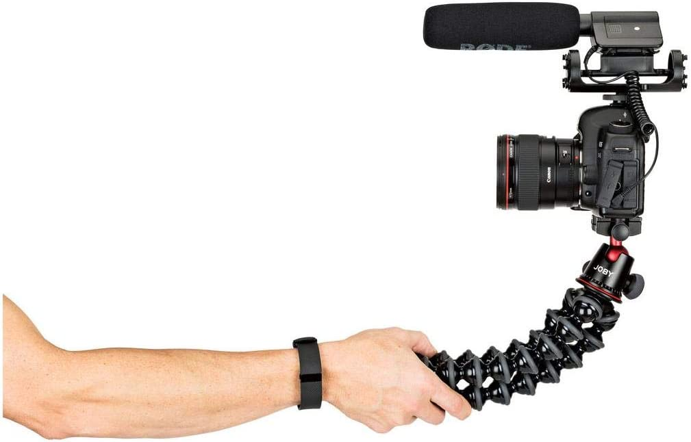 Professional Tripod Stand with Ball Head for DSLR or Mirrorless Cameras with Lens up to 11lbs//5kg Black//Charcoal Bundle with 64GB SD Card Joby GorillaPod 5K Kit Rig Upgrade Cloth