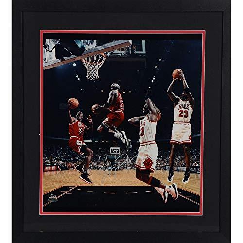 Michael Jordan Chicago Bulls Framed Autographed 16