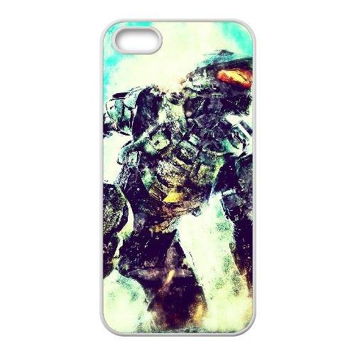 S1M57 Halo K4P0GV iPhone 5 5s Handy-Fall Hülle weißen DM7EON9MS decken