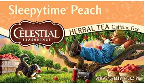 Celestial Seasonings Herbal Tea, Sleepytime Peach, 20 Count
