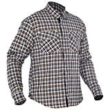 Oxford Men's Kickback Kevlar Shirt Khaki/White XX-Large/46