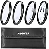 Neewer NEW 4-Piece 37mm Close-Up MACRO Lens Kit +1,+2,+4, +10