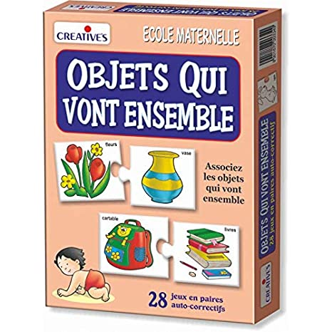 StonKraft Cosas Que Van Juntas (francés) | Aprender francés | Juegos de Aprendizaje |