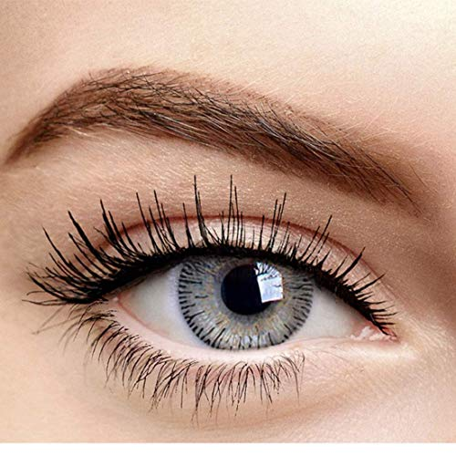 SOFT EYE (GREY) 1 pair monthly color contact lens (grey)