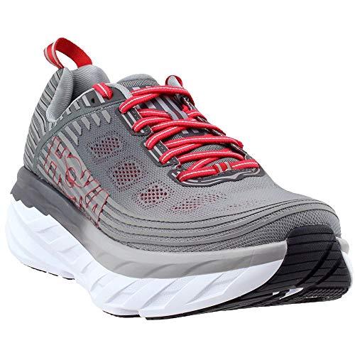 19366d25950 HOKA ONE ONE Men's Bondi 6 Running Shoe Alloy/Steel Grey Size 11 M US