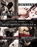 Download Lucia Jordan's Four Series Collection: Command Me, Deviant, Submission, Billionaire Brothers in PDF ePUB Free Online