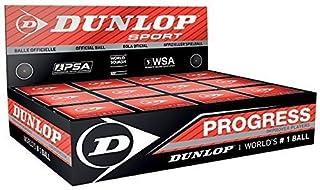 NEW Dunlop Progress Balles de Squash Formation Durable Match-Boîte de 12