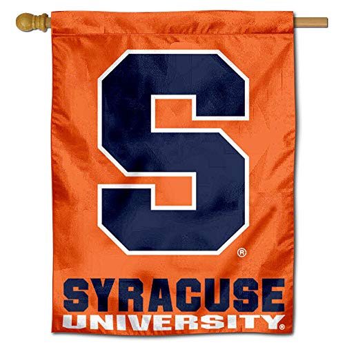 College Flags and Banners Co. Syracuse University Orange House Flag - Flag House University Banner
