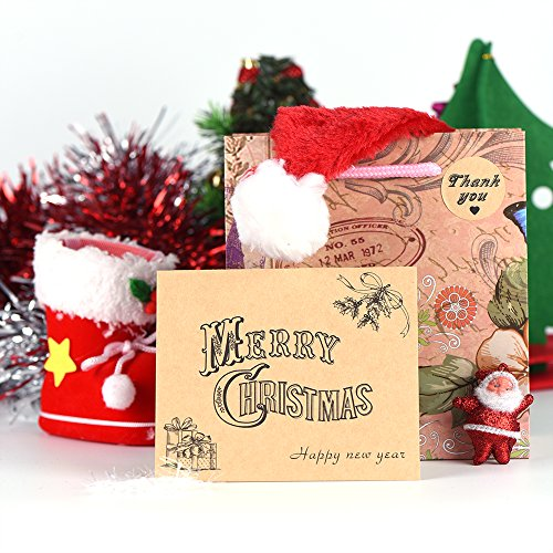 Kuuqa 36 Pieces Merry Christmas Cards Greeting Notes Cards with 36 Envelopes and 36 Stickers Photo #2