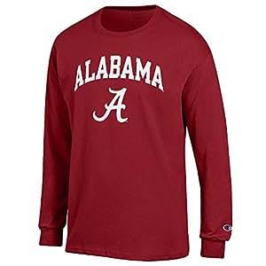 new product 829c6 ec485 Elite Fan Shop NCAA Men's Team Color Long Sleeve Shirt Arch