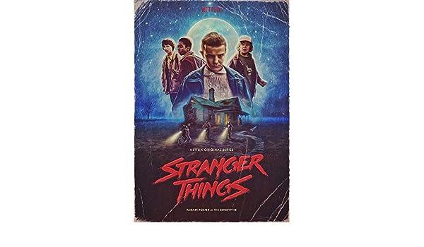 KODY HYDE Póster De Pared Metal - Stranger Things Film Movie ...