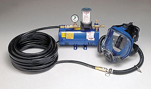 (Supplied Air Pump Package, 1/4 HP, People Served: 1, Headgear Included: Full Face Respirator)