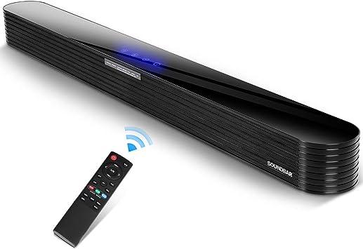 Barra de Sonido TV 2.0 Canales Bluetooth 80w 34 Pulgadas con ...