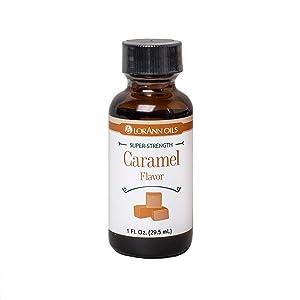 LorAnn Caramel Super Strength Flavor, 1 ounce Bottle