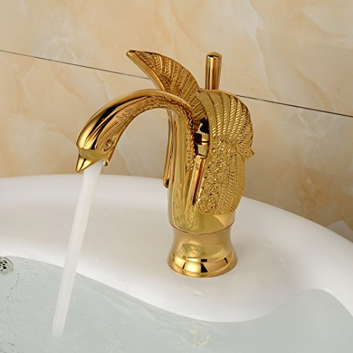 Polished Brass Basin Faucet - 6