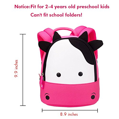 Animal 3D Children Preschool Waterproof Backpack School Alnaue Toddler Kids Bag Cat Pink2 Cute nYq01w6U