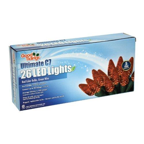 Led Diamond Cut C7 Lights - 9