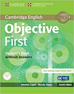 Objective First Students Book without Answers with CD-ROM Fourth ...