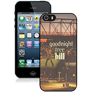 DIY iPhone 5s Case Design with Goodnight Tree Hill Cell Phone Case for Iphone 5 5s Generation in Black