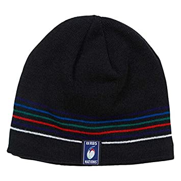 925d6ce6ed2 RBS 6 nations rugby classic beanie hat  navy   Amazon.co.uk  Sports    Outdoors