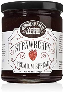 product image for Strawberry Premium Spread by Brownwood Farms (10 ounce)