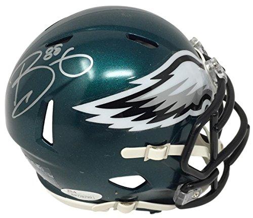 Trey Burton Eagles Autographed/Signed Mini Helmet JSA 131672