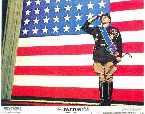 Patton Placard Movie (1970) Style A 11 x 14 Inches - 28cm x 36cm (George C. Scott)(Karl Malden)(Stephen Na)(Michael Strong)(Frank Latimore)(James Edwards)(Lawrence (Larry) Dobkin)