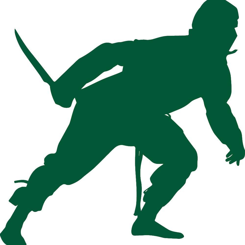 Amazon.com: NBFU DECALS Samurai Silhouette Warrior Ninja 21 ...