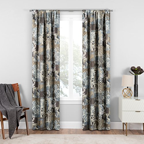 Eclipse Chiswick Room Darkening Single Window Curtain, 37 x 95, Spa by Eclipse Curtains (Image #5)