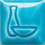 Duncan Envision Semi Translucent Glaze, Pint of Caribbean Blue