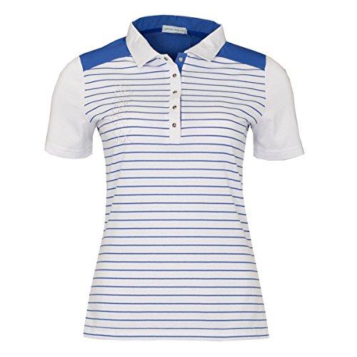 Green Lamb - Camisa deportiva - para mujer White/Sapphire
