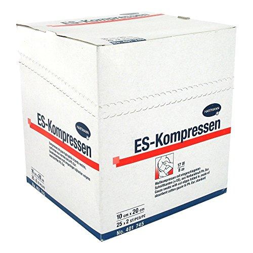 ES-Kompressen steril 8fach 10x20cm, 25X2 St
