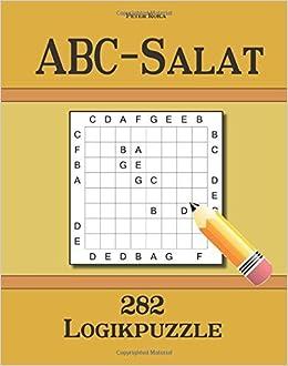 Book ABC-Salat 282 Logikpuzzle by Peter Roka (2015-04-01)