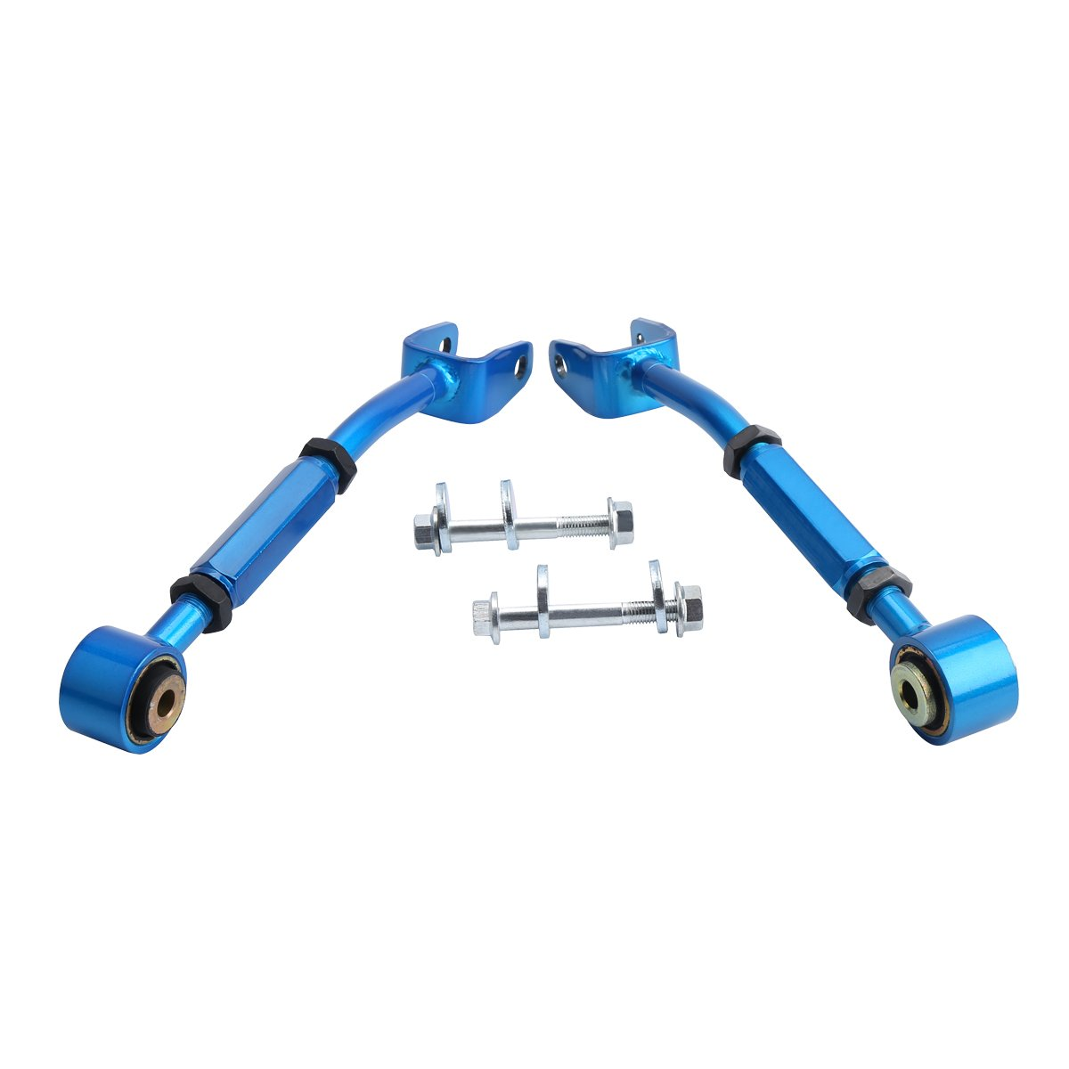 Rear Suspension Camber Arms Kit for 350Z 370Z Altima and G35 G37 Sedan Coupe Dynofit Rear Adjustable Link Toe Camber Arms Set for 350z 370z and Coupe Sedan Suspension Kit