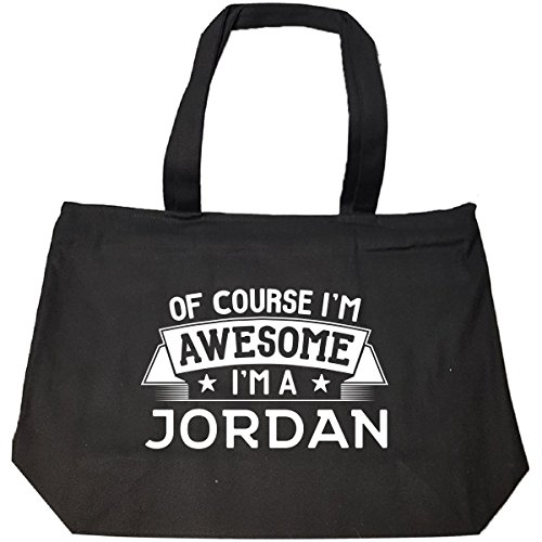 I'm A Jordan Funny Family Vacation Reunion Gift - Tote Bag With Zip by My Family Tee