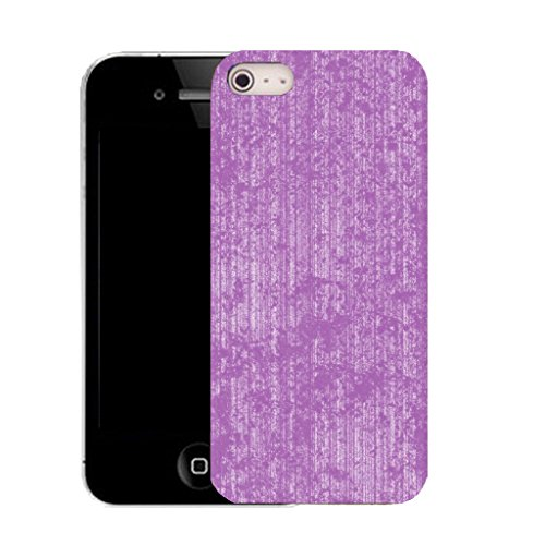 Mobile Case Mate IPhone 4 clip on Silicone Coque couverture case cover Pare-chocs + STYLET - purple profficient pattern (SILICON)