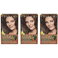 3-Pks. Clairol Natural Instincts Semi-Permanent Hair Color Kit (13 Suede Light Brown)