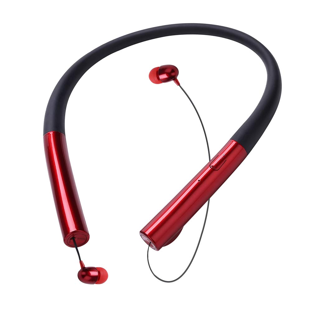 Bluetooth Earbuds, Wireless Headphones, Deep Bass HiFi Stereo in-Ear Earphones, IPX7 Waterproof Sport Headphones, CVC6.0 Noise Cancelling with Mic