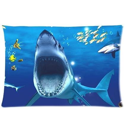 5ca9bde27c3 Amazon.com: Cute White Shark Opening Mouse Underwater World ...