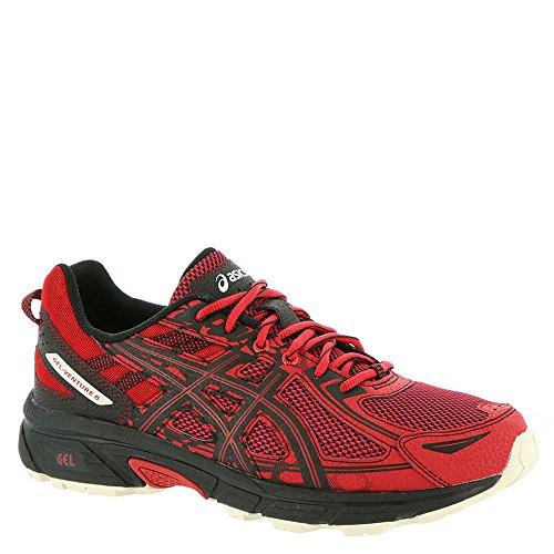 ASICS Men's Gel-Venture 6 Running-Shoes, Lychee/Black/Whisper White, 12 Medium US