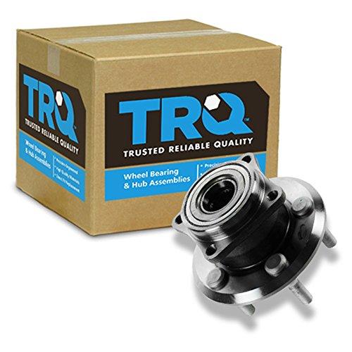 TRQ Wheel Bearing & Hub Assembly Rear Left Right EACH for Vibe Matrix AWD ()